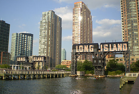A picture of a building on long island