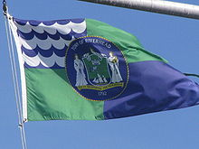 Picture of the Riverhead town flag